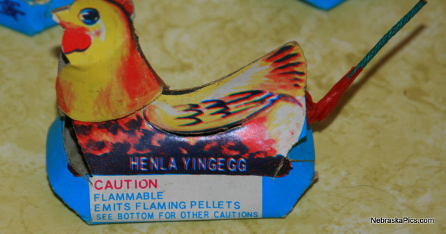 "Note how it says ""emits flaming pellets"""